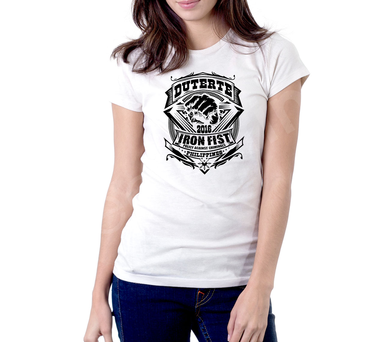 Shirt design ladies - Rodrigo Rody Roa Duterte President Of The Republic Of The Philippines Design Inspired T Shirt