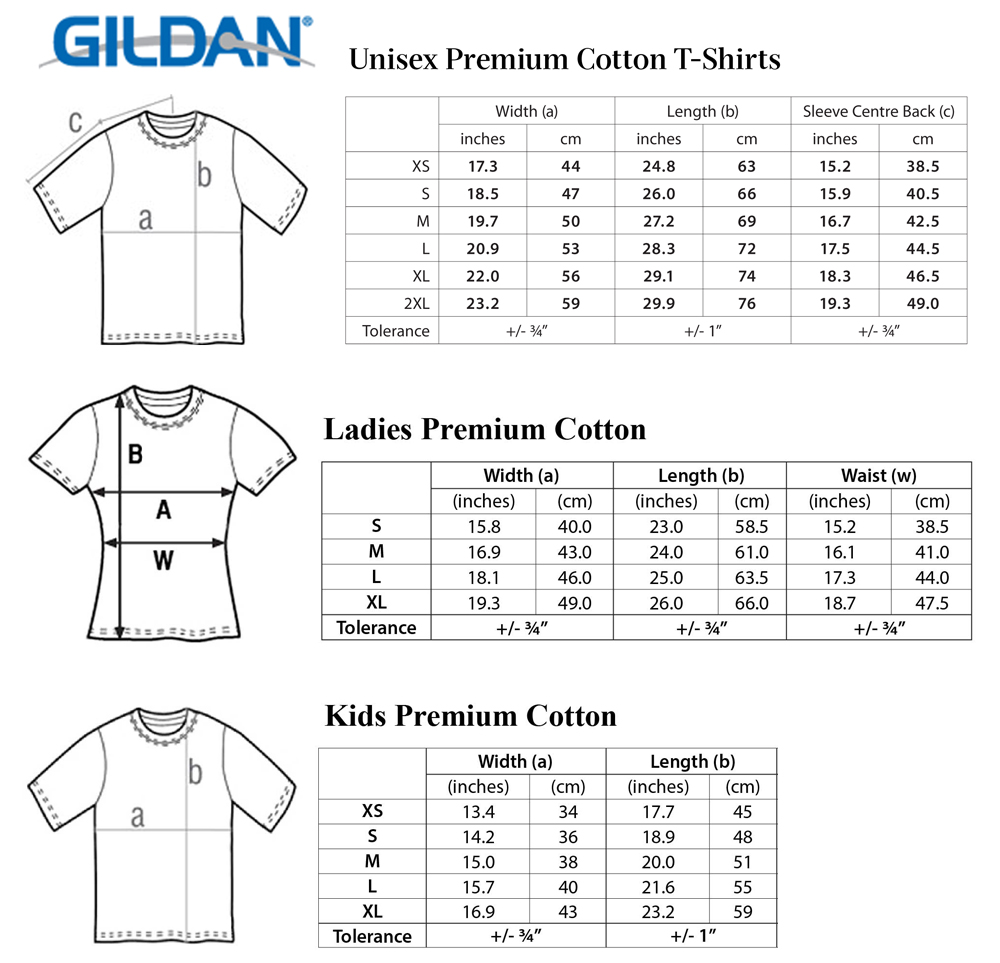 Duterte iron fist youth t shirt white 100 cotton ebay for Gildan brand t shirt size chart